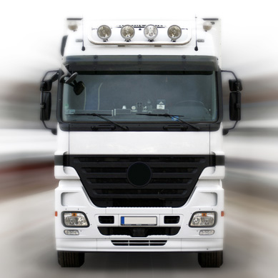 Transportversicherung – LKW frontal