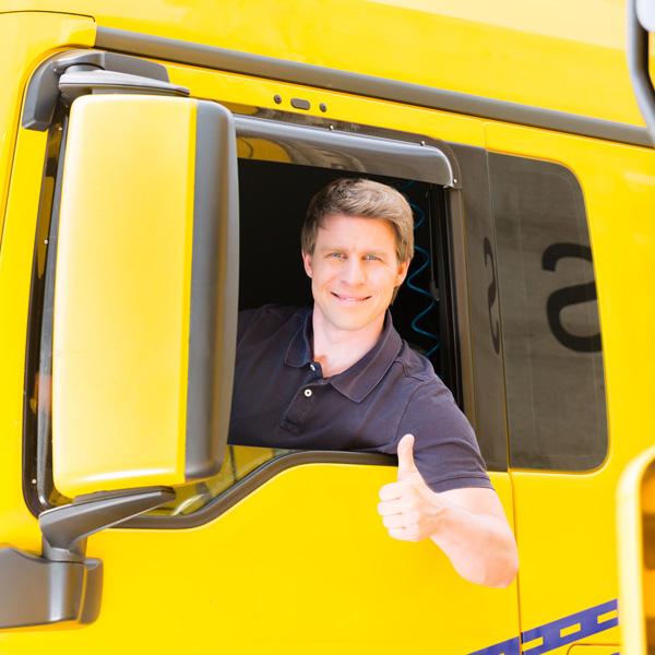 Transportversicherung – Zufriedener Versichterter